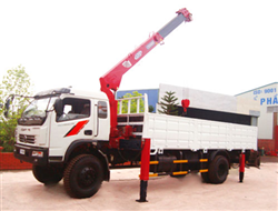 8 ton Self-Propelled Crane Rental